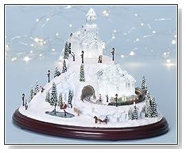 amusements LED Lighted Animated & Musical Christmas Village Decoration