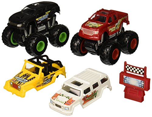 Kid Connection Monster Stunt Truck Play Set