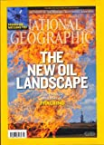 NATIONAL GEOGRAPHIC NATIONAL GEOGRAPHIC MAGAZINE ~ MARCH 2013 ~ NEW OIL LANDSCAPE ~ RISK TAKERS : ICE WATER DIVER