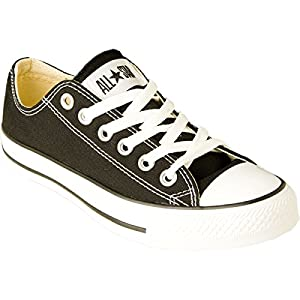 Converse Womens All Star Elevated Studs Black Sneaker - 8