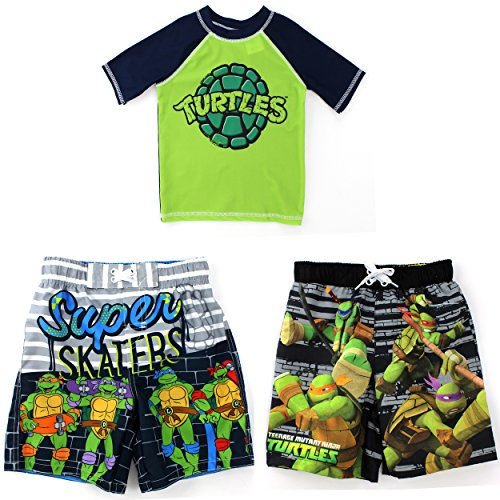 TMNT Ninja Turtles Boys Swimwear