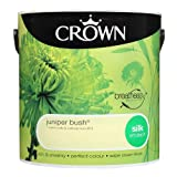 Crown Breatheasy Emulsion Paint - Silk - Juniper Bush - 2.5L