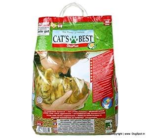 Cat's Best Öko Plus Katzenstreu, 20 Liter