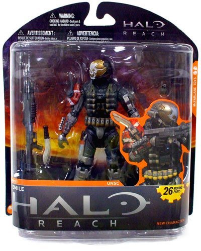 McFarlane Toys Halo Reach Series 1 Emile Action Figure by Unknown