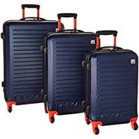 3-Piece Nautica Tide Beach Hardside Spinner Luggage Set - Multi Colors