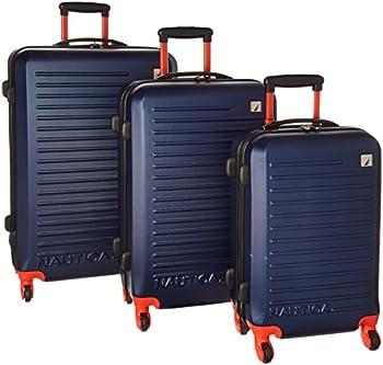 3-Pc. Nautica Tide Beach Spinner Luggage Set
