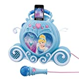 Enchanting Sing-Along MP3 Boombox - Cinderella (Mp3 PLAYER IS NOT INCLUDED) - BOOMBOX WILL PLAY YOUR OWN MP3 PLAYER THAT YOU ATTACH