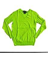 Polo Ralph Lauren Womens Boyfriend Fit V-Neck Sweater