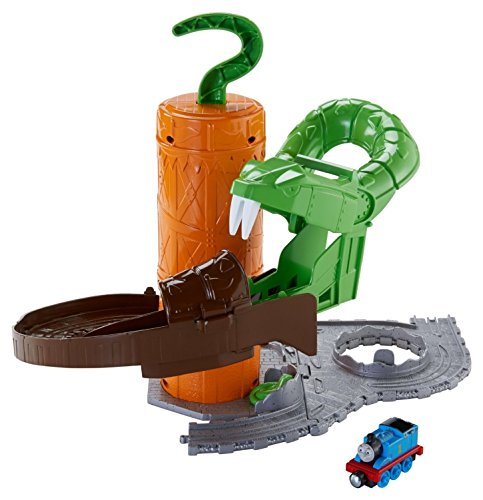Fisher-Price Thomas the Train Take-n-Play Rattling Railsss Snake Ride - 1