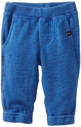 Quiksilver Baby-boys Infant City Java Fleece Pant, Blue, 12 Months
