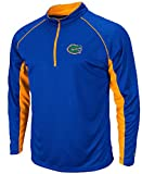 Florida Gators Royal ¼ Zip Synthetic Light Weight Top (XL=48) at Amazon.com