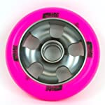 Envy 110mm Wheel 5 Spoke Grey / Pink