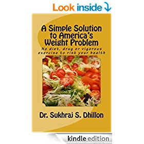 A SIMPLE SOLUTION TO AMERICA'S WEIGHT PROBLEM: Banish Belly and Lose Weight in Just 5 Minutes a Day (Self-help and Spiritual Series.)