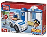 Mega Bloks Blok Town Police Patrol Buildable Playset