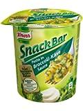Knorr Snack Bar Pasta in Brokoli-Käse-Sauce, 8-er Pack (8 x 69 g)