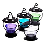 Hashcart Multicolor Votive Tea Light Candle Holder for Home Décor - Set of 4