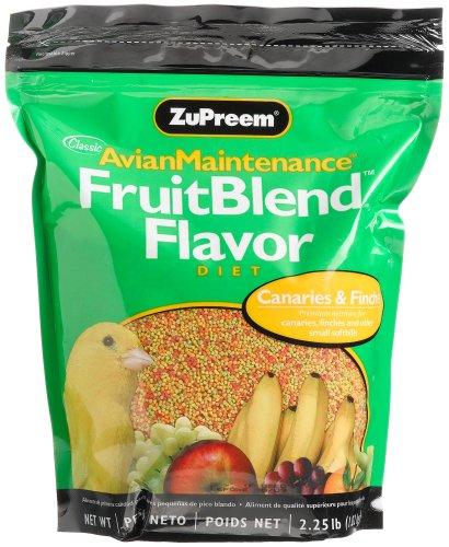 Zupreem Fruitblend Flavor Xs Premium Bird Food