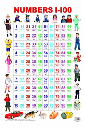 Worksheets Number 1-100 buy numbers 1 100 book online at low prices in india reviews ratings amazon in