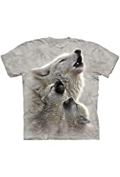 The Mountain Wolf Singing Lessons Adult Tee
