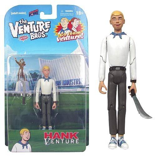 Venture Bros. Hank Venture 3 3/4-Inch Figure