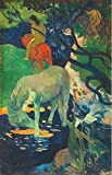 The Perfect Effect Canvas Of Oil Painting 'Paul Gauguin-The White Horse,1898' ,size: 16x25 Inch / 41x63 Cm ,this Vivid Art Decorative Canvas Prints Is Fit For Gift For Bf And Gf And Home Decor And Gifts