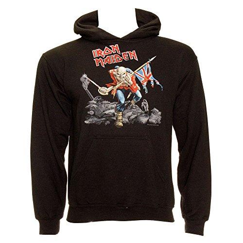 Felpa Iron Maiden Trooper (Nero) - X-Large