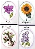 Quilling Kit-Elegant Floral Cards