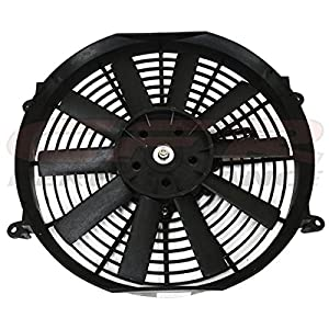 "16"" High Performance Electric Radiator Cooling Fan - Flat Blade"