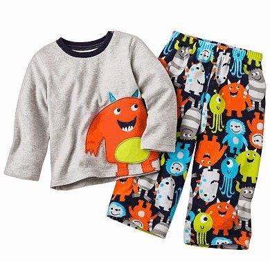 397ee7af6b kosin store boy pajama  Carter s Monster Microfleece Pajama Set - Baby