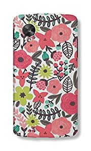 Back Cover for Nexus 5 PINK FLORAL