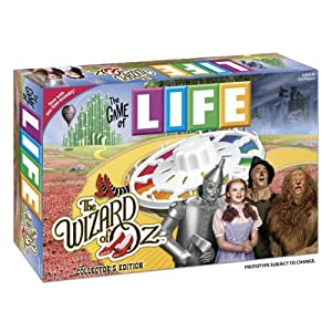 Game of Life Wizard of Oz board game!