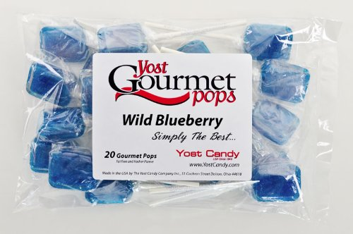 Yost Gourmet Pops, 20 Count Bag - Wild Blueberry front-572961