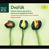Dvorák: Slavonic Dances op. 46 & op. 72; Overtures and Symphonic Poems (3 CDs)