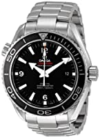 Omega Men's 232.30.46.21.01.001 Seamaster Black Dial Watch from Omega