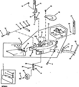 265543 John Deere L G Belt Routing Guide moreover John Deere Deck Parts Diagram likewise John Deere 112 Wiring Diagram Electric Lift additionally Wiring Diagram John Deere L110 likewise Sabre Lawn Tractor Wiring Diagram. on john deere 110 lawn tractor parts