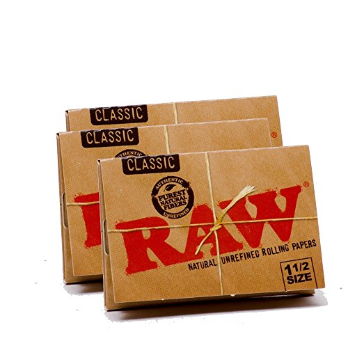 RAW-Classic-Natural-Unrefined-Rolling-Papers-79mm-1-12-Size-Pack