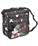 Mickey Mouse Insulated Mini Diaper Bag - Black