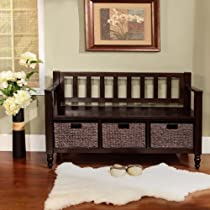 Home Dakota Collection Entryway Bench