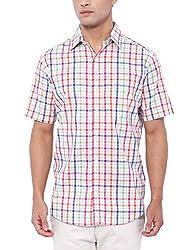 Deezeno Slim Fit Checkered Half Sleeve Shirt
