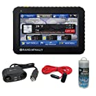 Rand McNally Intelliroute TND 520 5-Inch Truck GPS with Lifetime Maps + Roadpro 12V 12-Inch Extension Cord with Cigarette Lighter Plug + Accessory Kit