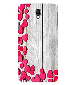 ColourCraft Beautiful Hearts Pattern Design Back Case Cover for SAMSUNG GALAXY NOTE 3 NEO DUOS N7502
