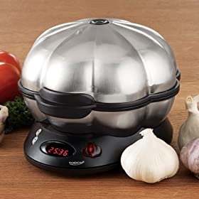 Electric Stainless Steel Express Garlic Roaster