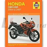 Haynes Manual 4620 for Honda CBR125R 2004