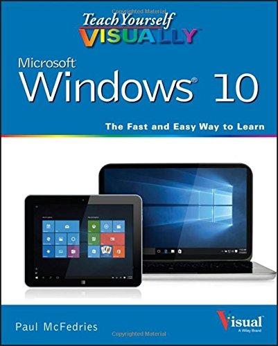 Teach Yourself VISUALLY Windows 10 (Teach Yourself VISUALLY (Tech)) (Windows 8 Visual compare prices)
