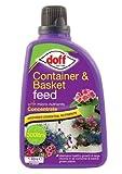 Doff Container & Hanging Basket Plant Flower Feed Food Fertiliser 1 Litre