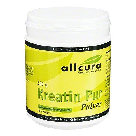 KREATIN PUR Pulver Premium Qualität 500 g Pulver