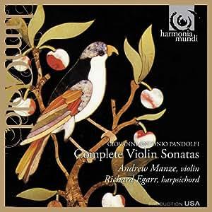 Pandolfi: Violin Sonatas Op.3-4 (Manze/Egarr)