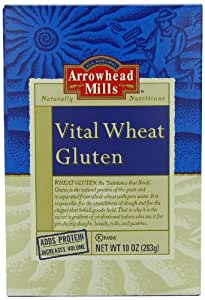 Arrowhead Mills Vital Wheat Gluten, 10 Ounce (Pack of 12)