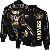 NFL Minnesota Vikings Big & Tall On Fire Jacket 5XL
