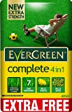 EverGreen 360sqm Complete 4-in-1 Lawn Care, Lawn Food, Weed and Moss Killer Bag(360 m2 plus 10% extra free (total coverage 400 m2)
